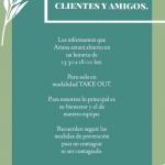 Aitana Restaurante ofrece únicamente servicio Take Out durante cuarentena #Estilo